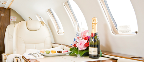 VIP on-board catering